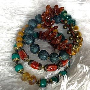 ❤️Multi Colored Beaded Bracelet